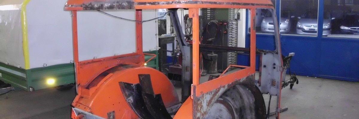Buehrer Traktor Carrosserie vorher
