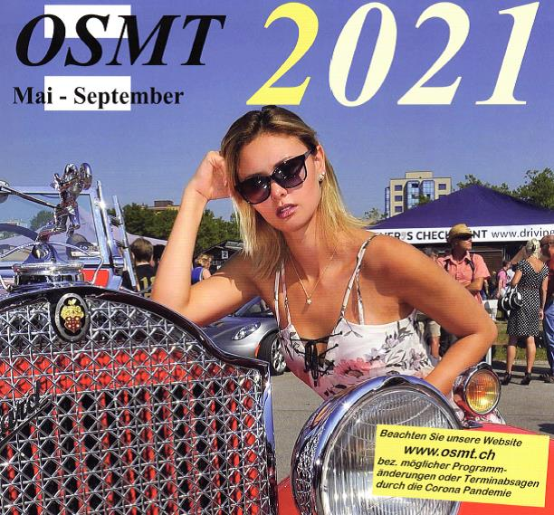 Flyer Jahresprogramm OSMT 2021